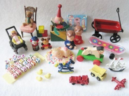 Dollhouse Miniature Toys Ebay