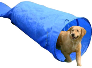 PawHut 5663-1308 16.4' Dog Tunnel Portable Agility Training