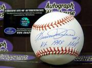 Kevin Mitchell Signed Baseball