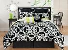 Black and White Twin Comforter
