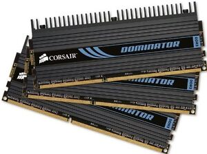Corsair Dominator 6GB (3x2GB) DDR3 1600 MHz (PC3 12800) Desktop
