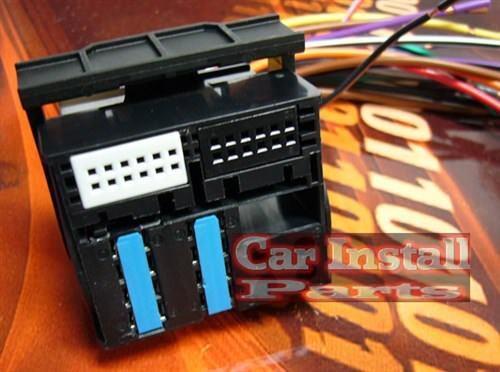 audi oem stock radio wire harness plug 2000 2009 ebay