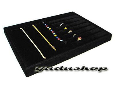 Samt -Vorlagebrett Schmucklade für Ketten Armbänder Ringe