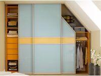 Sliding wardrobe doors made by measure