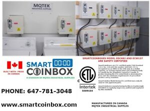 SMARTCOINBOX HOUSE WASHER/DRYER KIT ( CERTIFIED TO CSA STD)