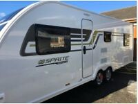 Swift Sprite Quattro FB Executive with Diamond Pack. 2016. Twin Axle. Mint Condition. Hardly used.
