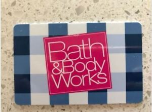 Bath & Body Works store credit/ gift card- $ 25 for $31.24 value