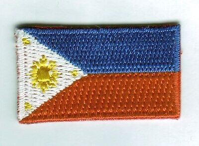 Philippinen Mini Aufbügler,Aufnäher,Patch 3,5 cm * 2 cm