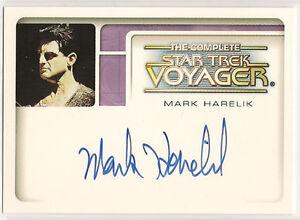 Complete-Star-Trek-Voyager-Autograph-Card-A3-Mark-Harelik-Kashyk