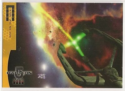 Babylon 5 Season 4 Trading Cards Fleet Of The First Ones Chase Card F5 Ace