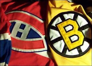 MONTREAL CANADIENS VS BOSTON BRUINS TICKETS FOR SALE IN MONTREAL + ALL OTHER CANADIENS HOME GAMES!