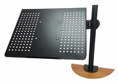 Monmount LCD-342B VESA 75 or 100 Adjustable Desktop Laptop Stand Mount - NEW