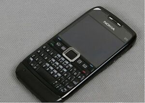 New-Original-Black-Unlocked-Nokia-E-Series-E71-3G-GPS-Wi-Fi-Cellphone-Smartphone