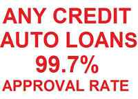 Any Credit Car Loans - Good, Bad or No Credit