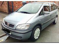 Vauxhall Zafira 1.6i Life 2004