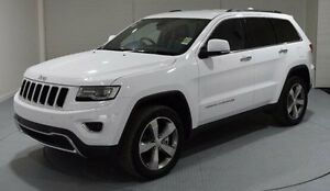 2016 Jeep Grand Cherokee WK MY15 Limited White 8 Speed Sports Automatic Wagon Invermay Launceston Area Preview