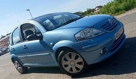 2002 CITROEN C3 SX 1.4 AUTOMATIC 5 DOOR WITH 10 MONTH'S M.O.T