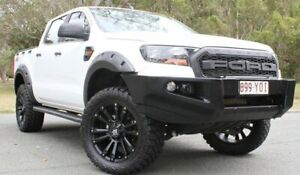 2016 Ford Ranger PX MkII XL Double Cab White 6 Speed Sports Automatic Utility Southport Gold Coast City Preview