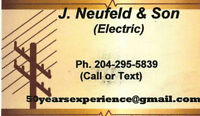 Journeyman Electrician 50 Years Experience