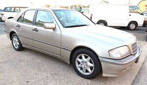 1998 Mercedes-Benz C180 W202 Classic Gold 5 Speed Automatic Sedan Underwood Logan Area Preview