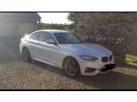 BMW 218d COUPE M SPORT only 8k