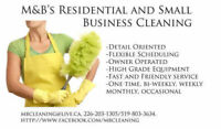 Are you in need of a one time clean?