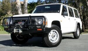 1997 Nissan Patrol GQ II DX White 5 Speed Manual Wagon Southport Gold Coast City Preview