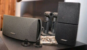 New wall brackets for BOSE cube speakers