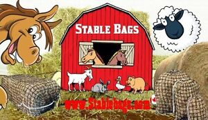 Round Bale Slow Feed Hay Bags