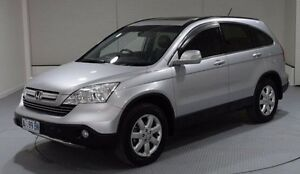 2008 Honda CR-V RE MY2007 4WD Silver 6 Speed Manual Wagon Invermay Launceston Area Preview