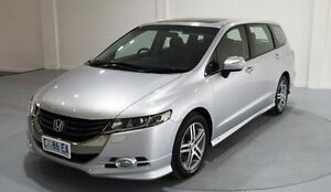 2011 Honda Odyssey 4th Gen MY11 Luxury Silver 5 Speed Sports Automatic Wagon Invermay Launceston Area Preview