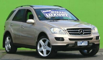 2007 Mercedes-Benz ML320 CDI W164 Luxury Gold 7 Speed Sports Automatic Wagon Ringwood East Maroondah Area Preview