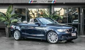 2009 BMW 120i E88 MY09 Blue 6 Speed Automatic Convertible Bowen Hills Brisbane North East Preview