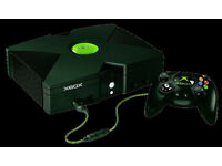 Microsoft XBOX bundle - retro gaming classic with games