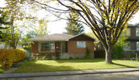 Rosscarrock SW 3 Bed upper bungalow garage LRT avail June 1