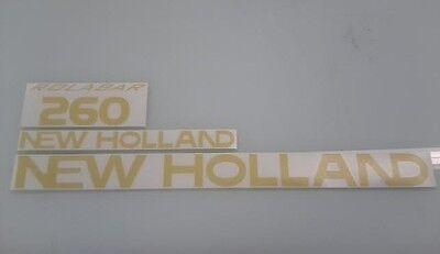 New Holland 260 Hay Rake Decals