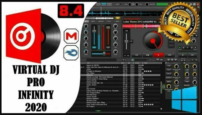 Virtual DJ Pro Infinity 2020 8.4.5 ????Software Mixing Controller???? Latest Version