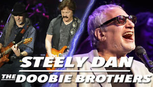 Steely Dan and the Doobie Brothers @ the bud Stage July 2nd