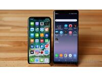 Wanted iphone x 10 8 plus 7 plus samsung s8 plus note 8 new used faulty working