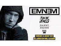 Eminem bellahouston 24th aug(4 tickets)