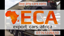07761226610 we buy any cars - export cars africa - paid cash