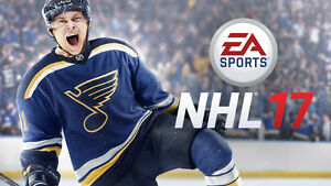 NHL 17 FOR THE PS4 FOR SALE $30 (Missing front cover)
