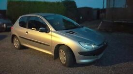 peugeot 206 for sale. AUTOMATIC, 2002