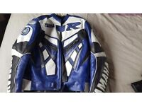Leather Yamaha Motorcycle Jacket