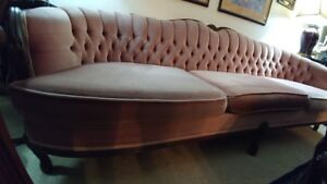 Couch/Single Chair and Collectible Items - See list