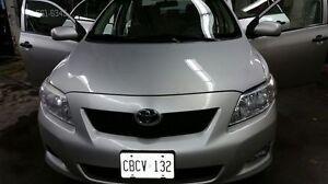 2009 Toyota Corolla (Manual transmission)