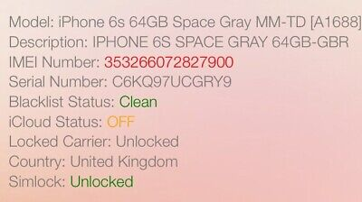 INSTANT iPhone IMEI CHECK NETWORK CARRIER MODEL ICLOUD BLACKLIST FMI