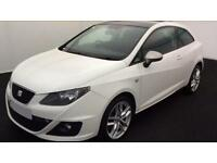 Seat Ibiza 1.4 ( 150ps ) SportCoupe DSG 2010MY FR FROM £25 PER WEEK !