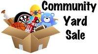 Second Annual Community Wide Yard Sale