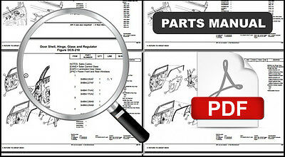 1981 1982 1983 JEEP CHEROKEE ENGINE TRANSMISSION OEM PARTS CATALOG PART MANUAL